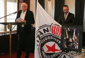 Partizanov oproštaj od Milenka Savovića