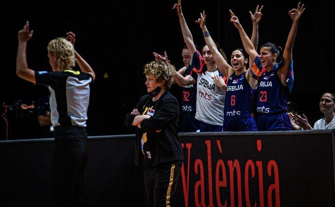 Košarkašice Srbije protutnjale pored Grkinja