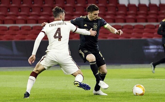 Duća tragičar, Ajaks poklonio Romi pobedu, Junajted jednom nogom u polufinalu LE!