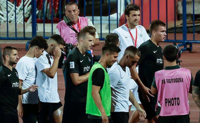 Grmelo je ''Stojke, Grobare'' na oproštaju od Partizana!