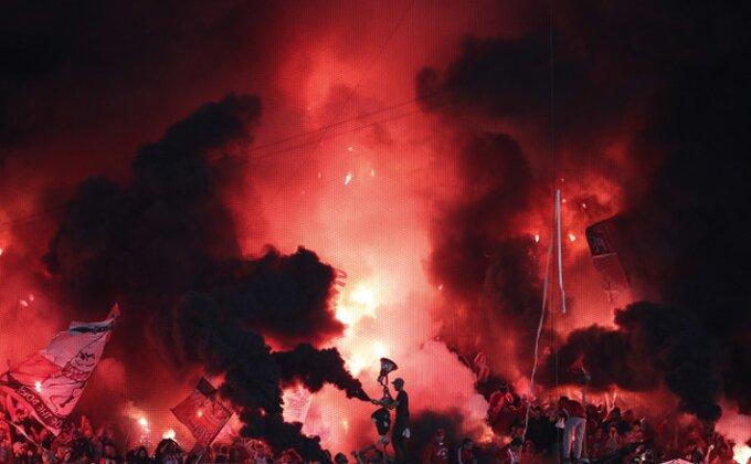 Grčka antiteroristička jedinica istražuje požar, nema fudbala do daljnjeg