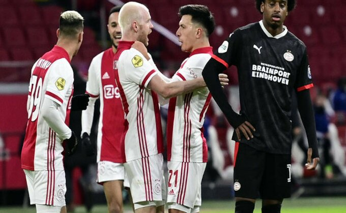 Aleov četvorominutni šou, Ajaks srušio PSV za polufinale Kupa!