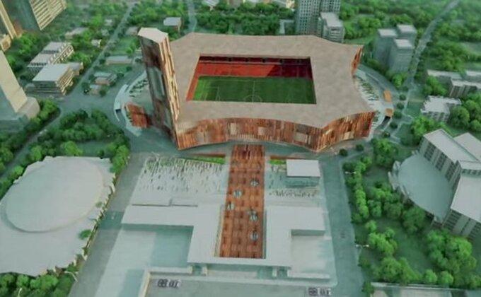 Albanci grade Nacionalni stadion u Tirani