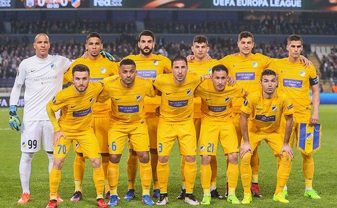 APOEL i po peti put uzastopno prvak Kipra