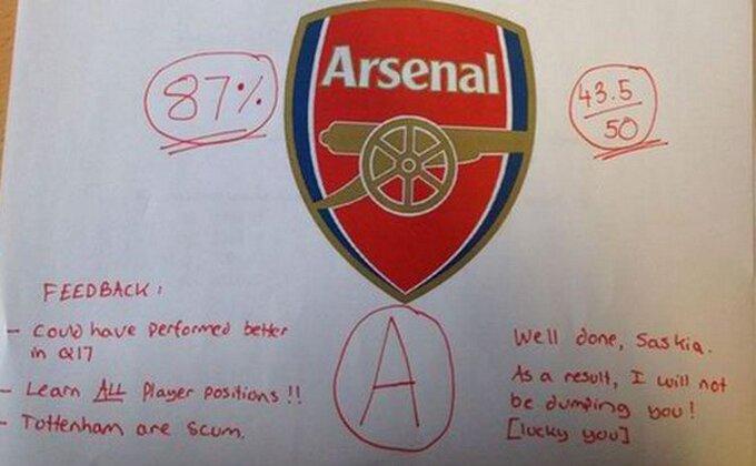 ''Poznavanje Arsenala'' - Ona je položila ispit!