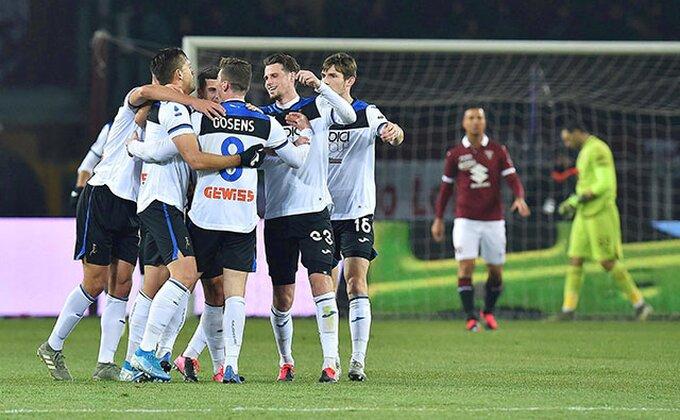 Serija A - Atalanta brojala do SEDAM u Torinu, Iličić dao gol sa centra i nosi loptu kući, Srbin pocrveneo!