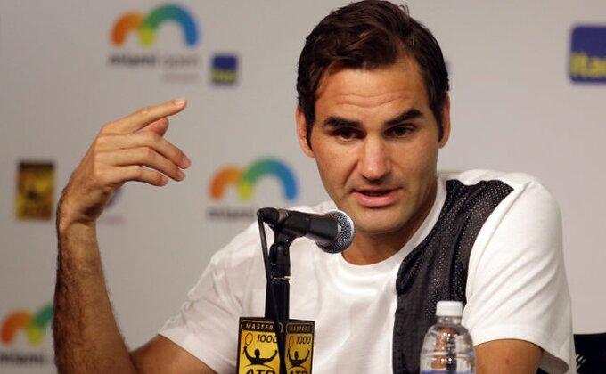 """Federer: """"Spremam se za Australijan open"""""""