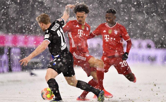 BL - Ludnica u Minhenu, Bajern počistio sneg, ali ne i Arminiju!
