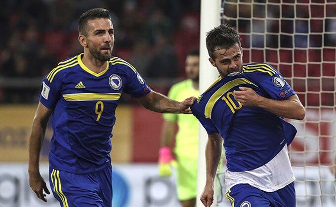 Bosanci prosuli pobedu u nadoknadi, Belgija brojala do osam, Ronaldo pobedio Letoniju!