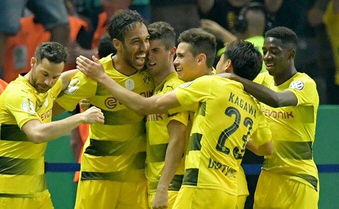 Fantatična atmosfera, ovo je koreografija kojom je trećeligaš dočekao Dortmund
