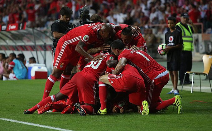 Benfika osvojila Super Kup Portugalije