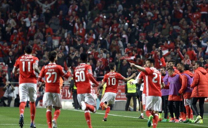 """Primeira: Feirense poklonio pobedu Benfiki, """"Orlovi"""" na kratko sedeli na vrhu"""
