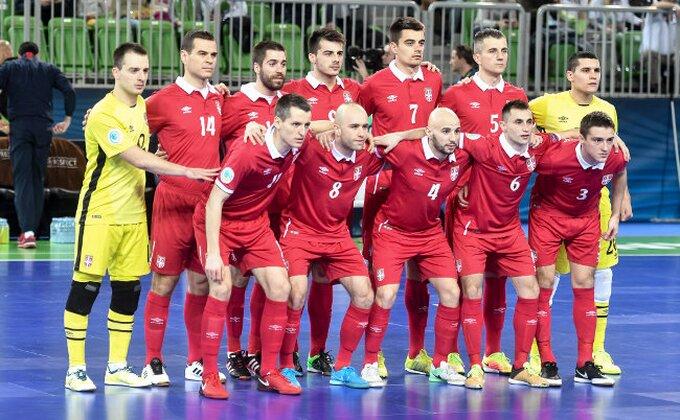 Futsaleri Srbije izgubili od Brazila