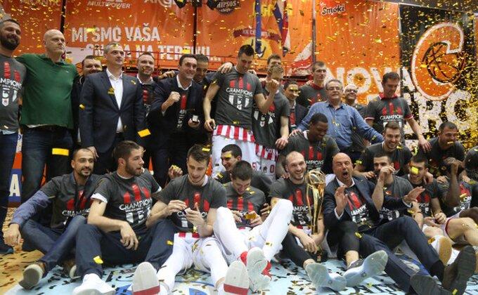 """""""Metla""""! Zvezda slavi titulu ABA lige u Zagrebu!"""