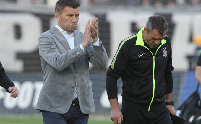 Đukić je ovo dva puta naglasio: ''Nemam šta da zamerim svom timu''