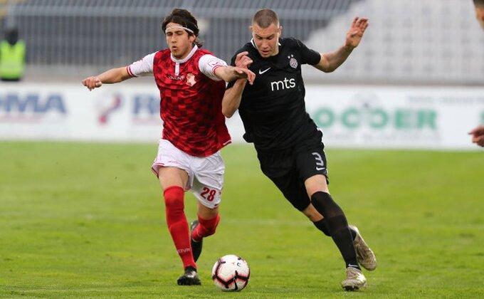 Italijani pišu hvalospeve o Strahinji Pavloviću, koju ponudu je Partizan odbio?