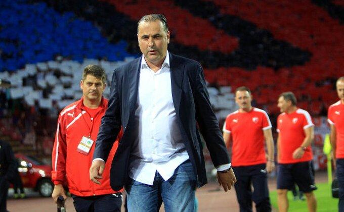 """Božović: """"Nema nervoze, nisam obećao Ligu šampiona"""""""