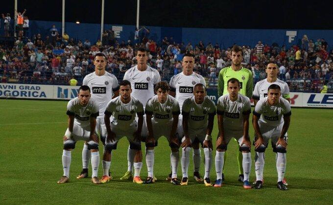 "Fudbaleri Partizana: ""Nerealan rezultat, ali ne gubimo nadu"""