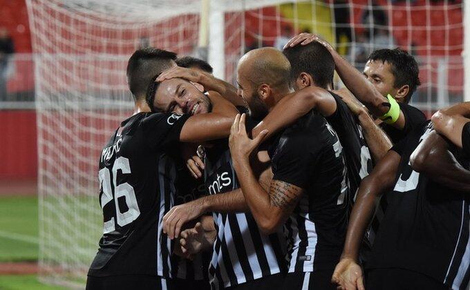 Evo kako su fudbaleri Partizana proslavili pobedu u Mađarskoj!
