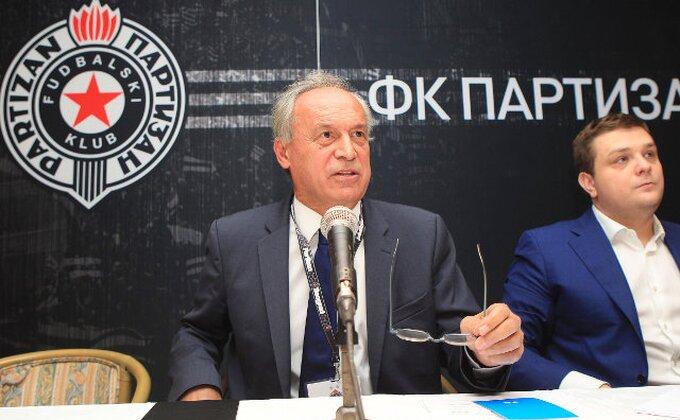 """Vučelić: """"Partizan će na leto igrati u Evropi"""""""