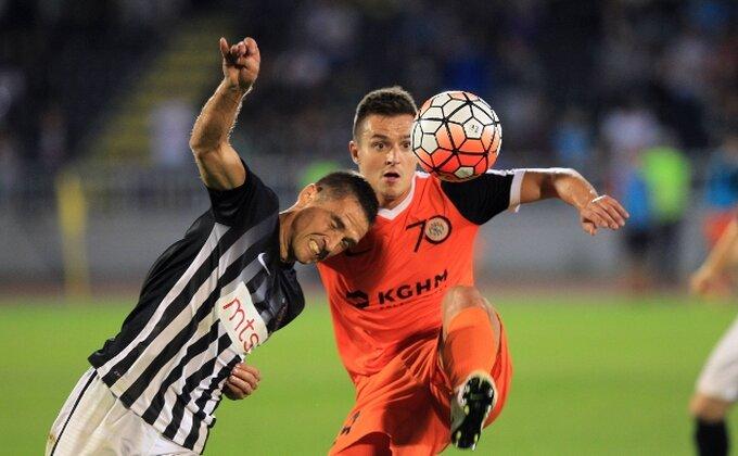 Nije imao ko da postigne gol - Tresle se prečke, Partizan bez pobede!