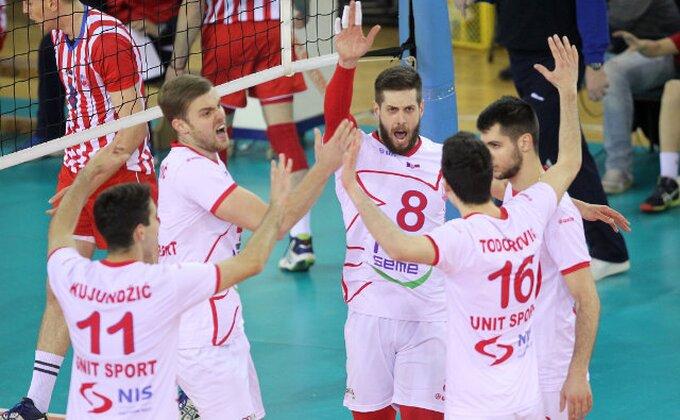 Vojvodina u osmini finala Kupa CEV