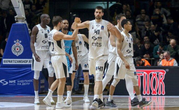 """Partizanov """"Air France"""" odleteo na prvo mesto Top 10 Evrokupa"""