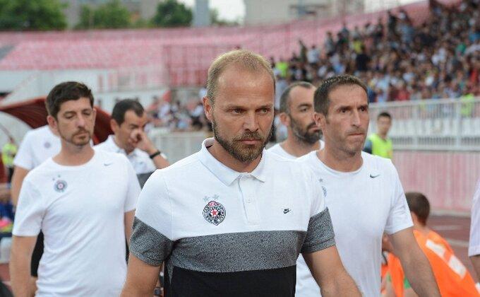 Da li ove reči znače da Tomić napušta Partizan?!