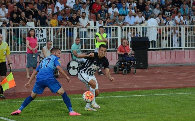 Partizan nema rešenja, nisu postigli gol ni protiv Bačke!