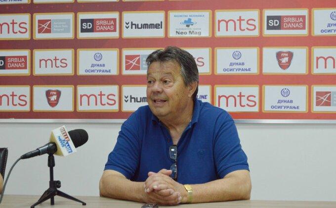 Kosanović podseća: ''Uzeli bod Zvezdi, izgubili od Partizana sa 6:2, ali...''