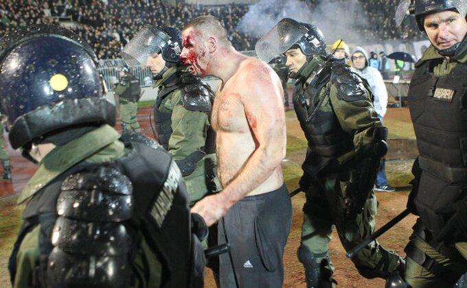 Potvrđeno - Hrvati se tukli na derbiju, postupak nije pokrenut!?