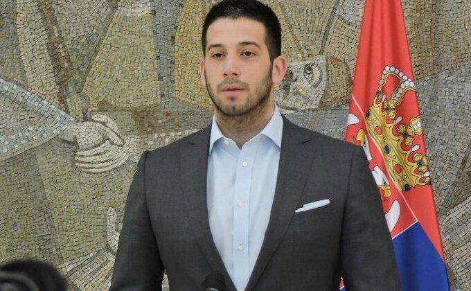 ''Ministarstvo omladine i sporta sa beskrajnom tugom oprašta se od naše Bobane...''