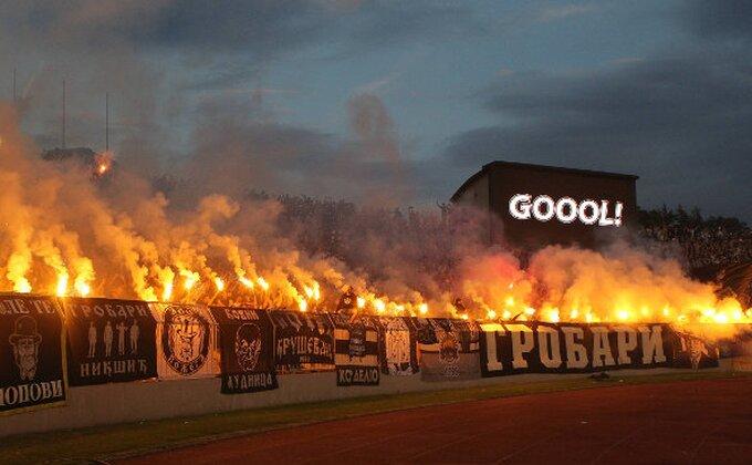 Sinoć je gorelo na tribinama u Humskoj, a ona je ''zapalila'' Partizanovu ložu