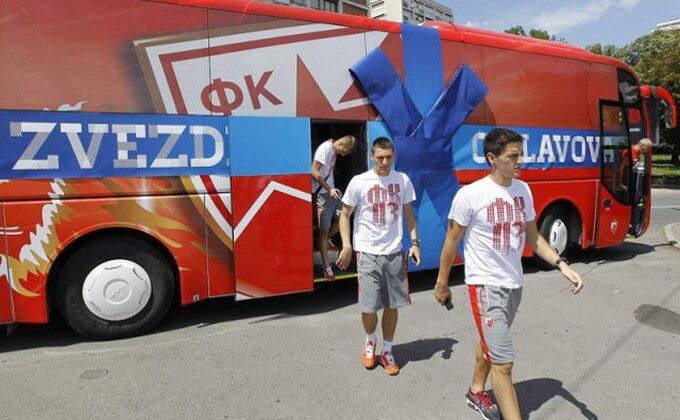 Incident u Sloveniji, vandali oštetili Zvezdin bus!