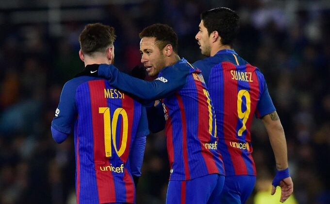 Mesi, Nejmar i Suarez ga ne žele u Barsi!