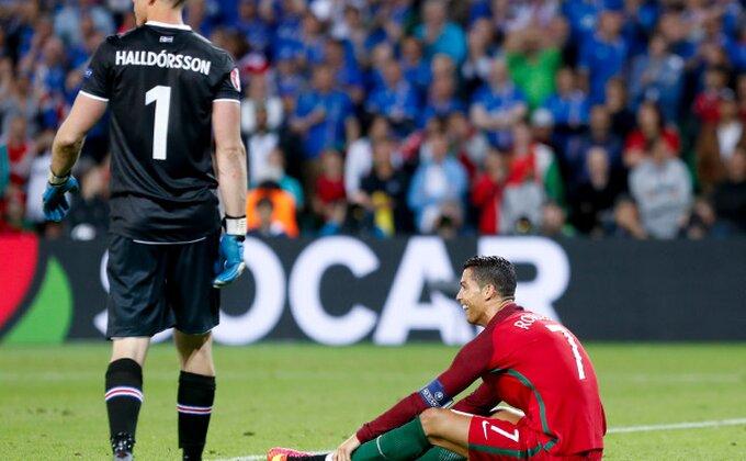 "Igrač Islanda: ""Ronaldo je ranjivi gubitnik, teško sr***"""
