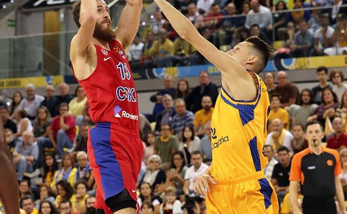 EL: Na Kanarima NBA atmosfera, CSKA slavio posle preokreta