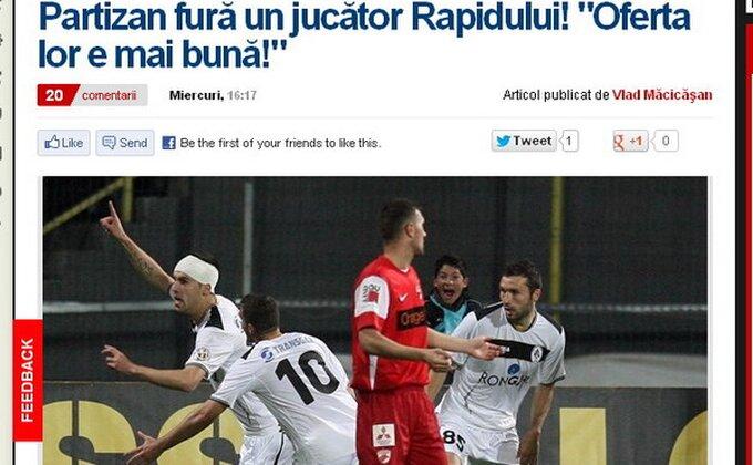 Partizan - Štoper stiže iz Rumunije!?
