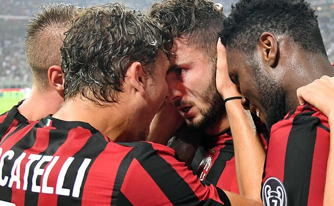 LE: Mlađani Kutrone spasao Milan, remi u Elbasaniju!
