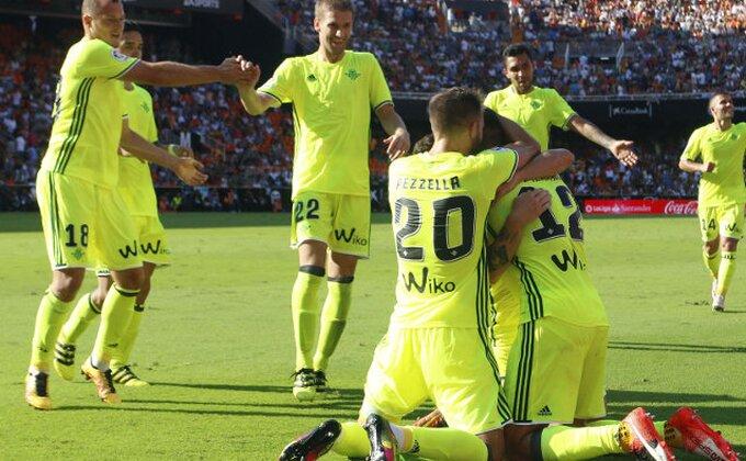 Betis iznenadio Bilbao, Brašanac presedeo na klupi!