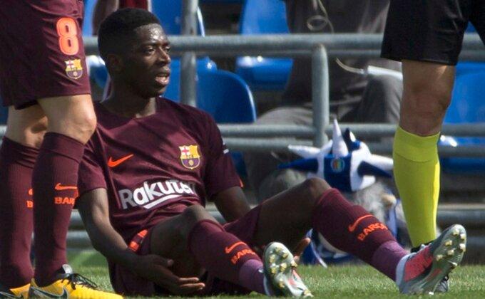 Novi udarac za Barsu, Dembele opet povređen!