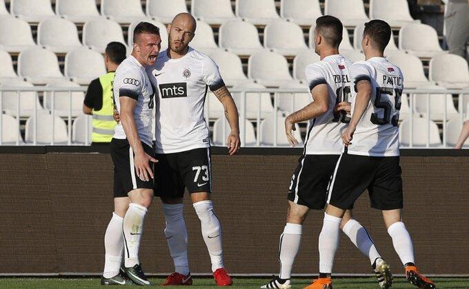 Problem na treningu Partizana pred put u Crnu Goru, da li će Đukić moći da računa na ovog igrača?