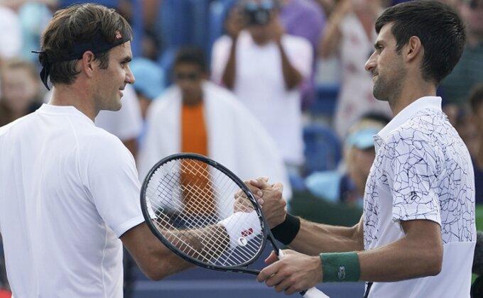 "Federer: ""Srećan sam zbog Novaka, nisam favorit na US Openu"""