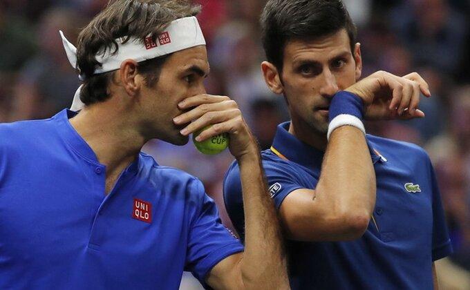Gledaćemo klasik, Novak na Federera!