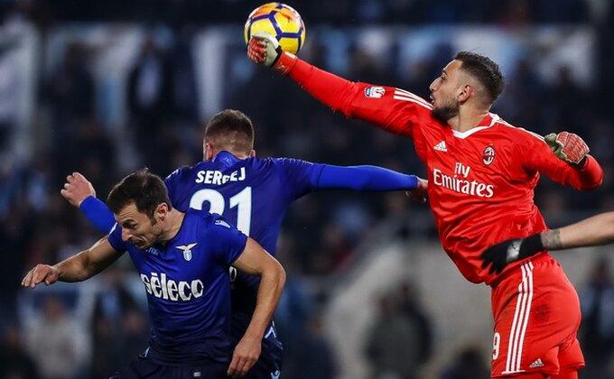 Rimljani u suzama, Milan u finalu!