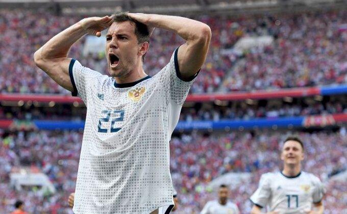 """Dzjuba: """"Bog fudbala je ovog puta pogledao Rusiju"""""""