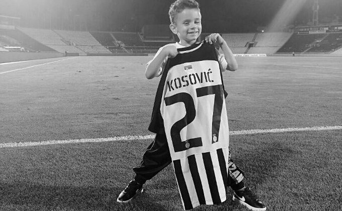Srbija tuguje za Dukijem, Partizan večeras igrao u čast malog heroja...