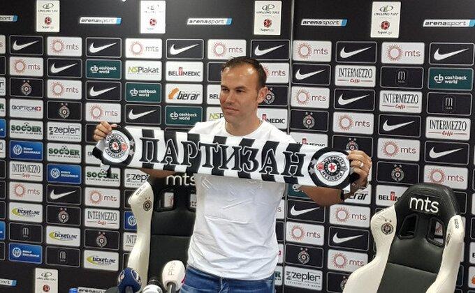 Ključni igrač Partizana hramljući izašao sa terena!