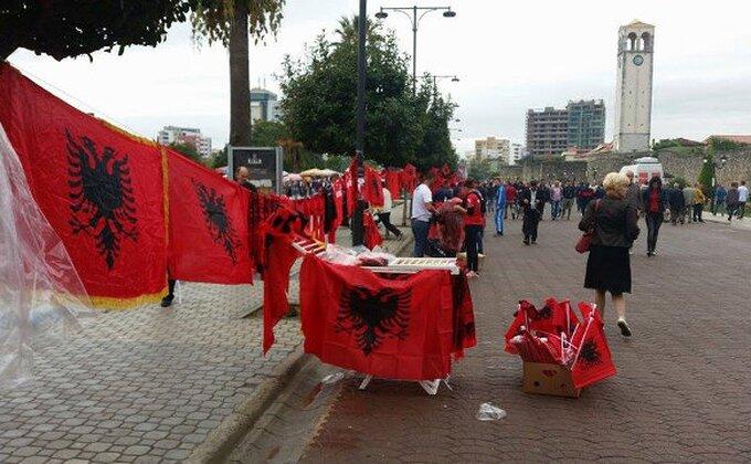 Albanci prekinuli meč u Italiji!