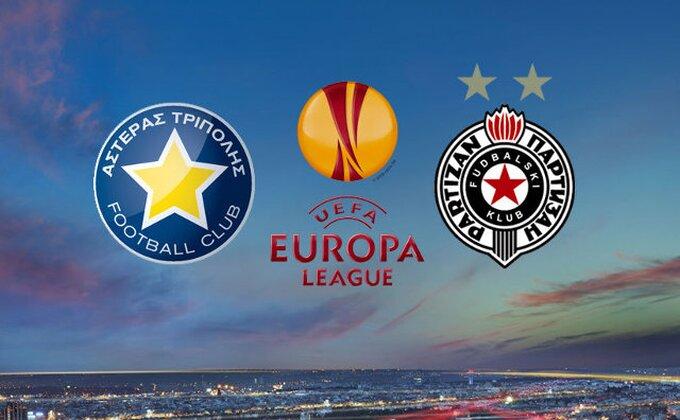 Asteras - Partizan 2-0 (kraj)